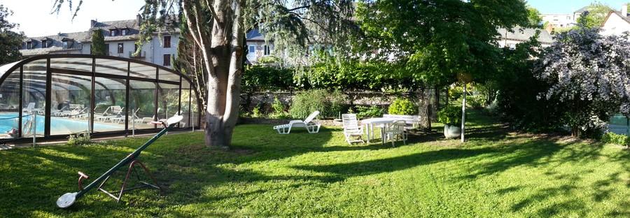 Jardin exotique à Entraygues-sur-Truyère
