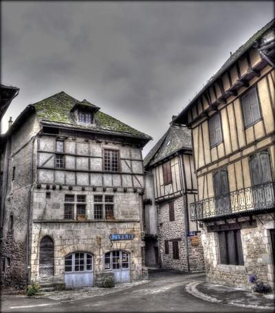 Village médiévial - Entraygues-sur-Truyère - Aveyron