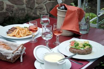 Restaurant avec terrasse - Entraygues sur Truyère