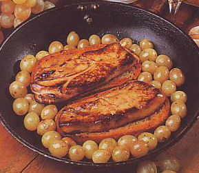Recette du foie gras aux raisins - Aveyron