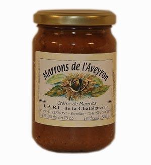 Crème de marron aveyronnaise - St Hippolyte - Aveyron