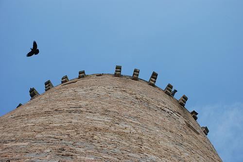 Tour du château médiévale de Bournazel