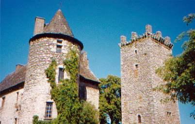 Château de Senergues - Aveyron - France