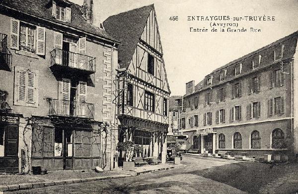 Hotel du Lion d'Or à Entraygues sur Truyère - Aveyron