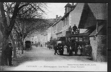 Quai Bastide 1925 - Entraygues - Aveyron