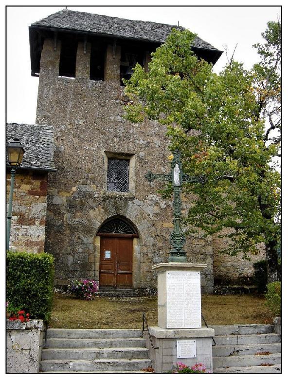 Eglise Saint Michel - Rodelle - Aveyron