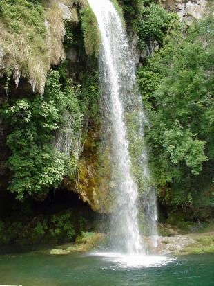 Cascade de Salles la Source - Aveyron - France
