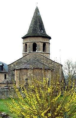 Eglise romane Saint Paul - Salles la Source - Aveyron