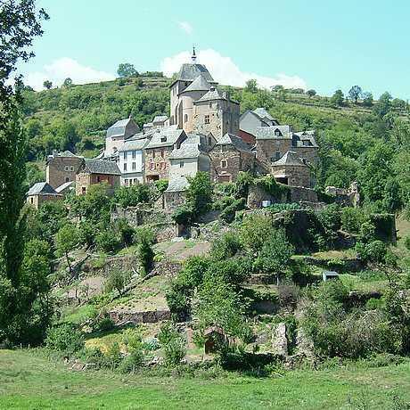 Coubisou ou les splendides petits villages de l'Aveyron