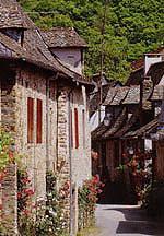 Petites ruelles de St Parthem - Aveyron - France