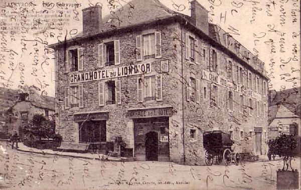 Cartes Postales Anciennes De L U0026 39 Hotel Du Lion D U0026 39 Or  U00e0