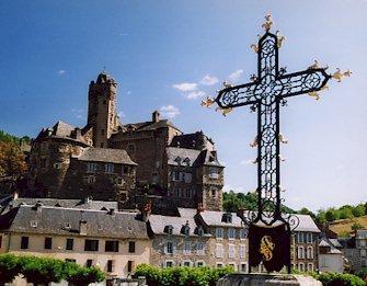 La croix du pont d'estaing - Aveyron