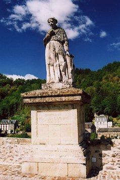 La statue de françois d'estaing - Aveyron