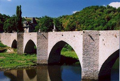 Le pont gothique d'estaing - Aveyron