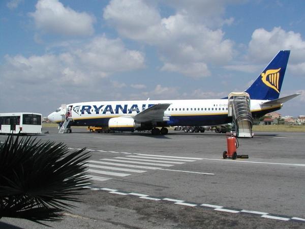 Rodez-Dublin en avion avec Raynair