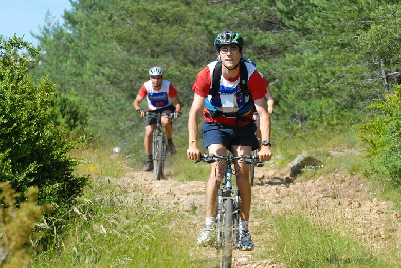 Challeng' Aveyron Aventure VTT, bike and run, cross montagne