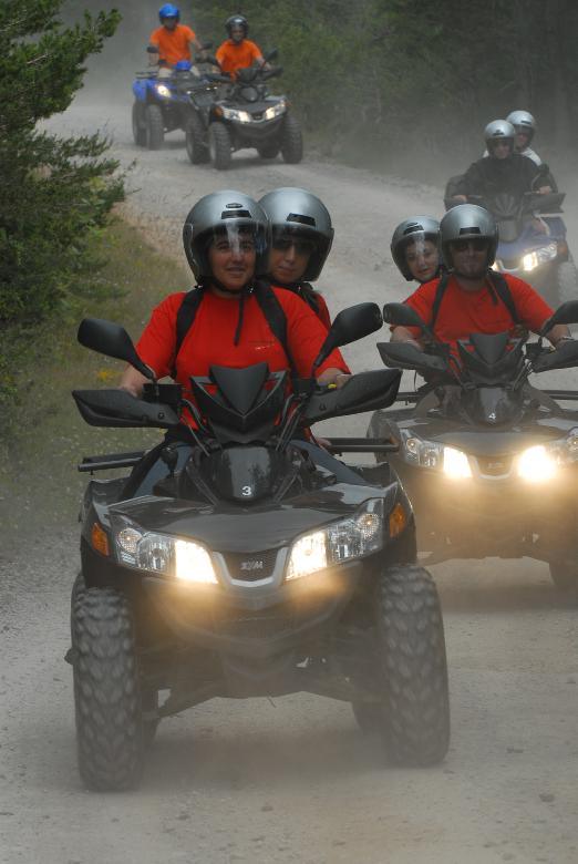 Challeng' Aveyron Aventure quad 4x4