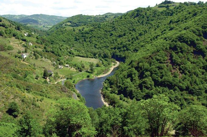 Gorges en Aveyron