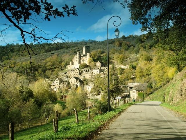 Le Ch�teau de Belcastel en Aveyron