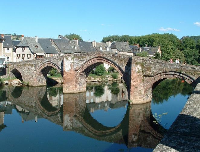 Le pont vieux - Espalion - Aveyron