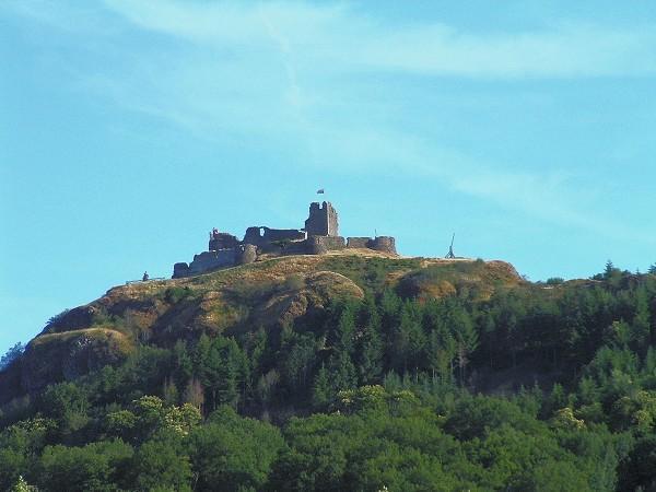 Le château de calmont - Espalion - Aveyron