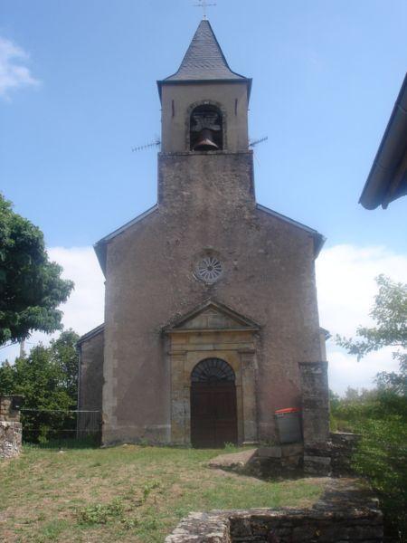 L'église Saint-Cirice près de Brousse-le-Château
