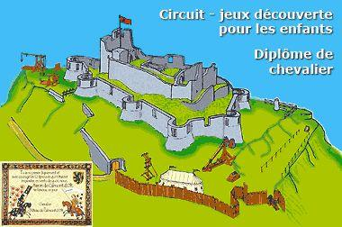 Château de Calmont d'Olt à Espalion