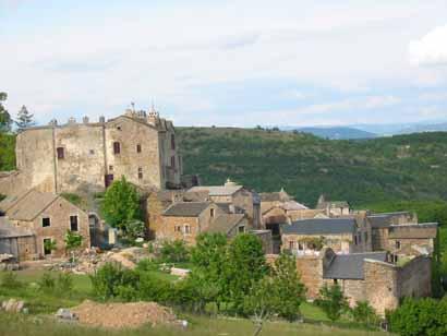 Château de Castelnau-Pegayrolles en Aveyron