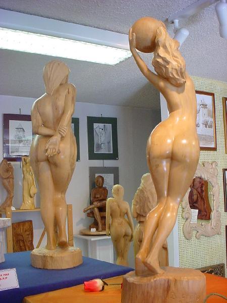Sculpture de Bernard Gratio - Aveyron