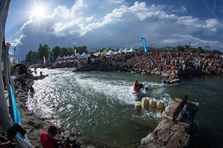 Kayak aux Natural Games de Millau