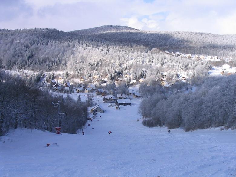 Aubrac - Brameloup station de ski
