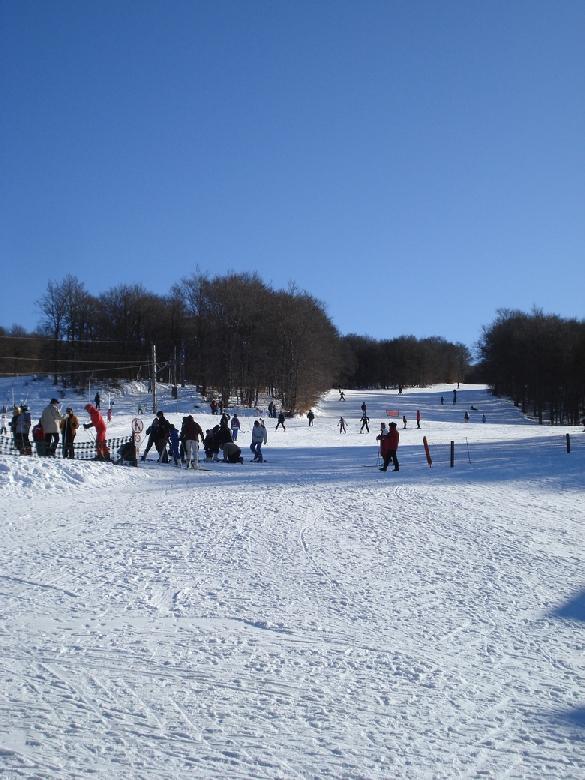 Brameloup, station de sports d'hiver familiale sur l'Aubrac