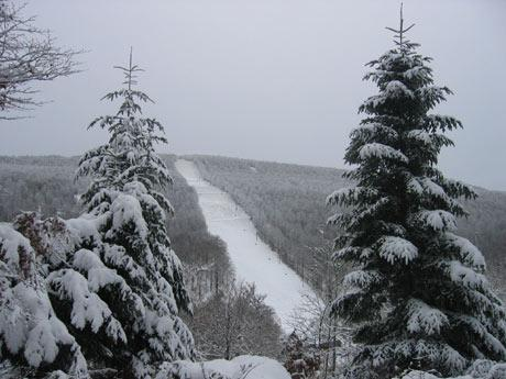 Ski en Aubrac à Brameloup