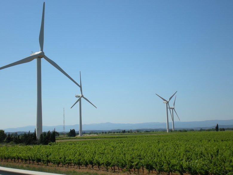 Eoliennes en Aveyron