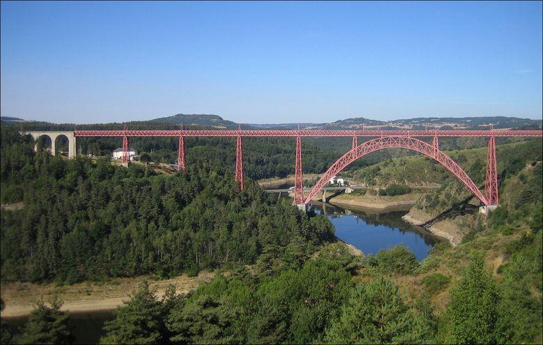 Viaduc de Garabit, cantal, Auvergne
