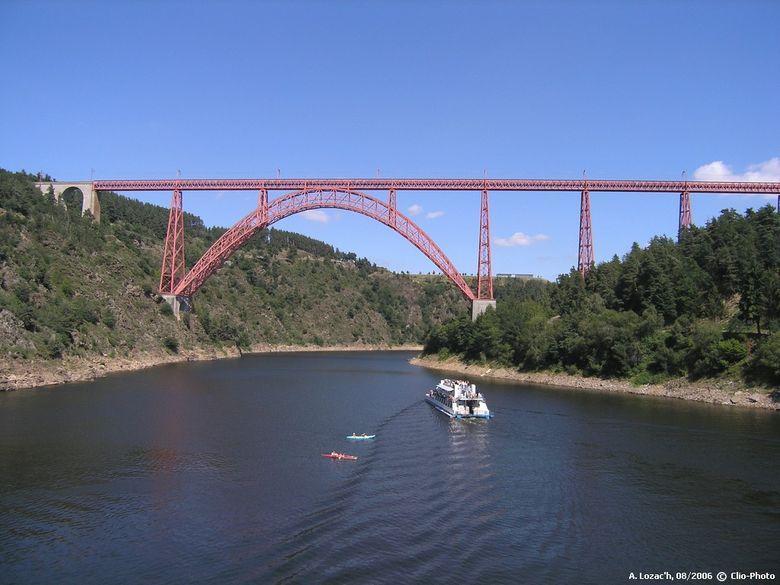 Pont de Garabit, cantal, Auvergne