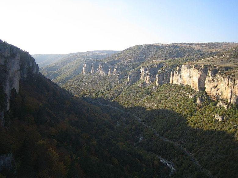 Les gorges de la Jonte - Loz�re