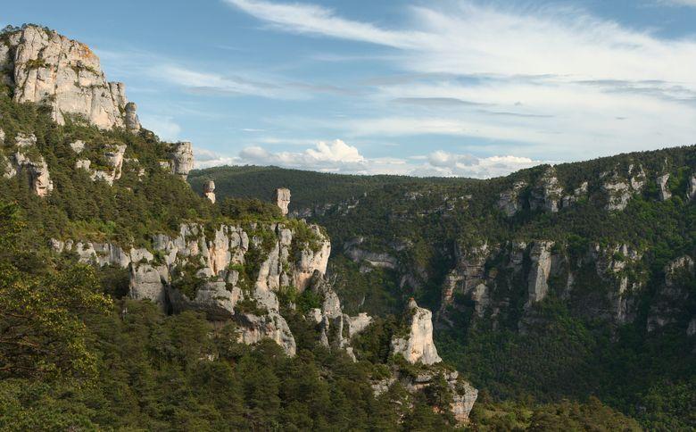 Le canyon de la Jonte aux portes de Millau