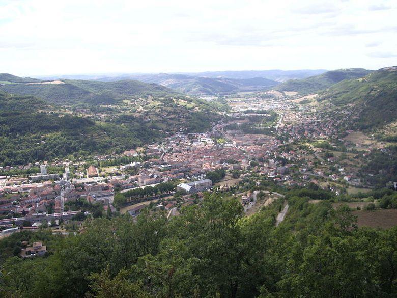 Saint-Affrique beau village d'Aveyron