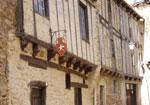 Naucelle, village médiéval aux maisons à colombages