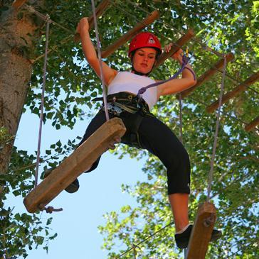 Parc de loisirs, Parcours aventure, Acrobranche dans l'Aveyron