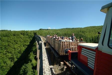 Train touristique du Larzac
