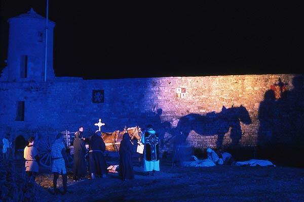 Spectacle de son et lumière de Sévérac le Château