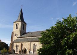 Pèlerinage à sainte Quitterie, en l'église de Lespinassole