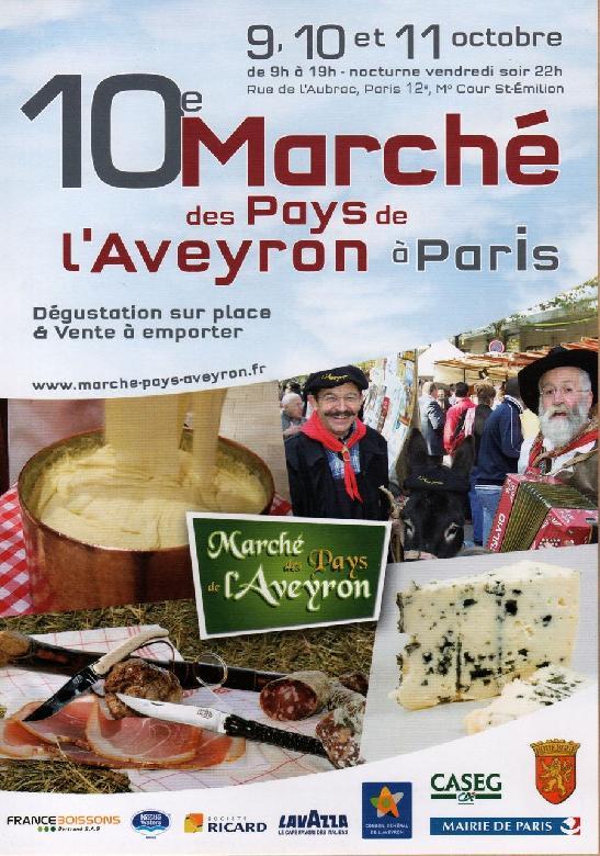 Marchés des Pays de l'Aveyron à Paris-Bercy
