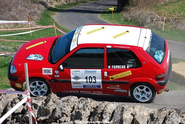 Rallye du Vallon de Marcillac en Aveyron