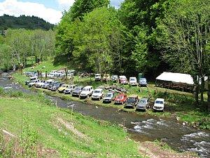 Fête Patronale de Brommes<br>Randonnée 4X4 Vallée de la Bromme à Mur de Barrez
