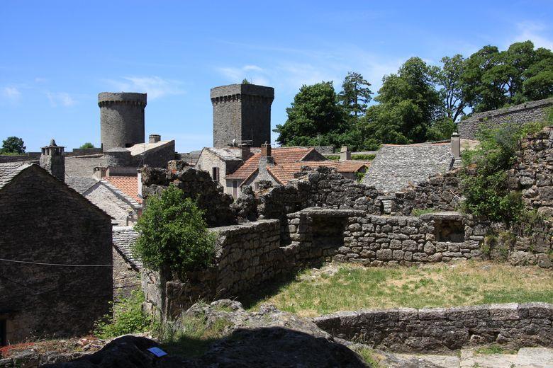 La Couvertoirade est l'une des cit�s templi�res les plus c�l�bres de l'Aveyron
