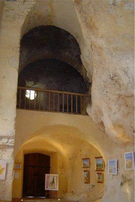 Peyre et sa chapelle troglodyte