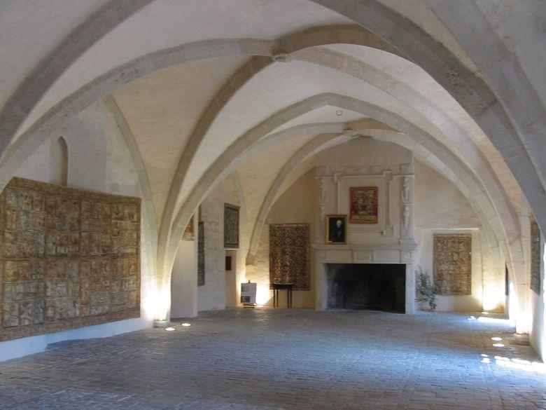 Salle d'honneur de la commanderie templière et hospitalière de Ste-Eulalie-de-Cernon